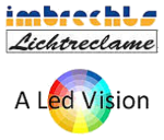 Imbrechts Lichtreclame / A Led Vision Logo