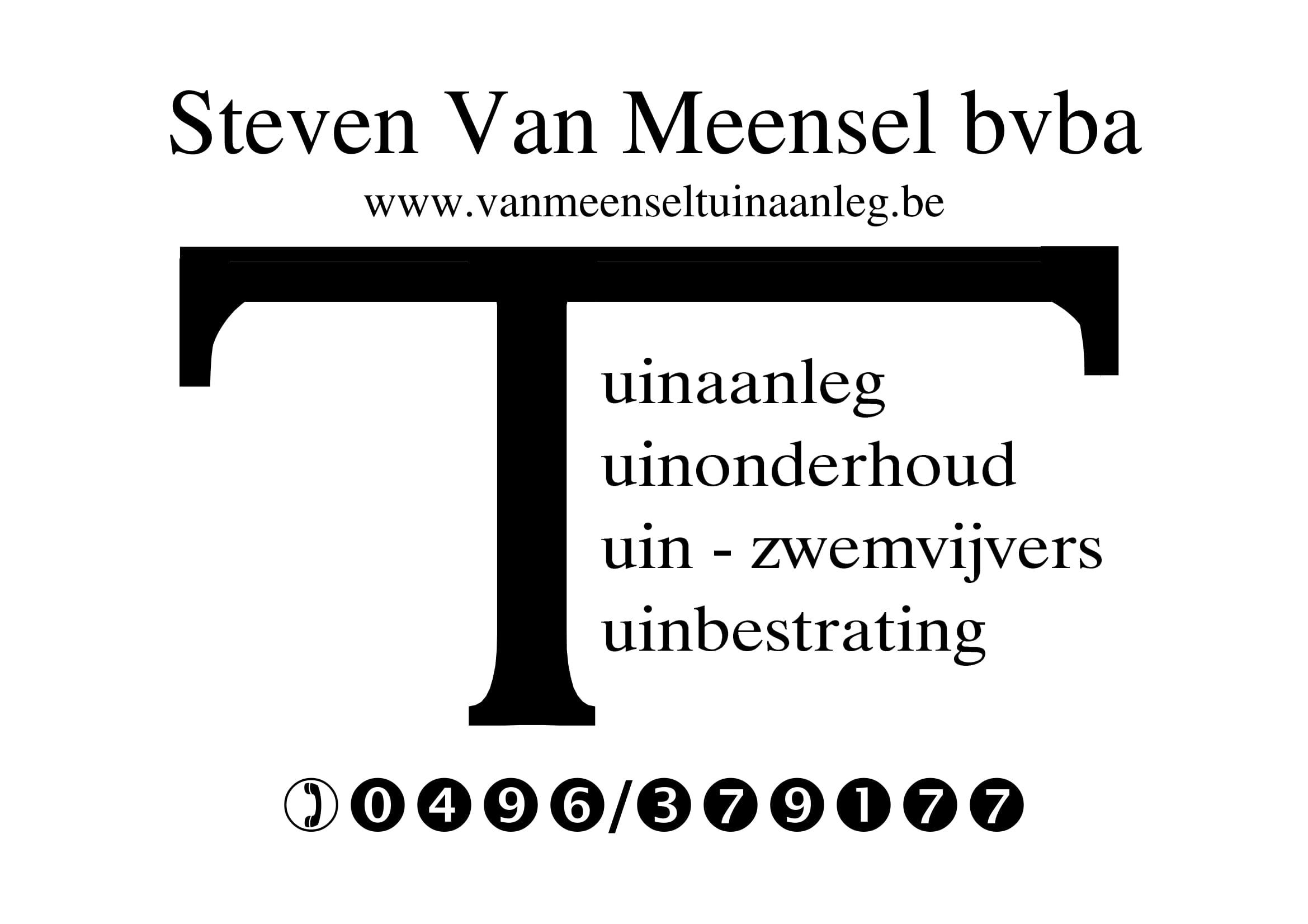 Steven Van Meensel Logo